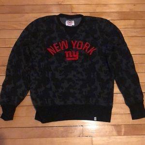 New York Giants black sweater